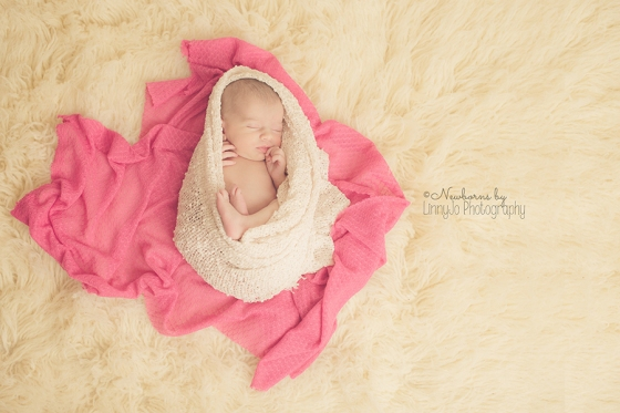Newborn girl Weatherford Newborn Photography